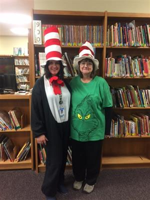 Mrs. Yarber and Mrs. Coleman