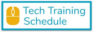 Tech Training Schedule Button