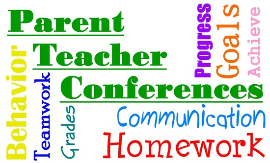Parent Teacher Conferences October 17 11-6pm