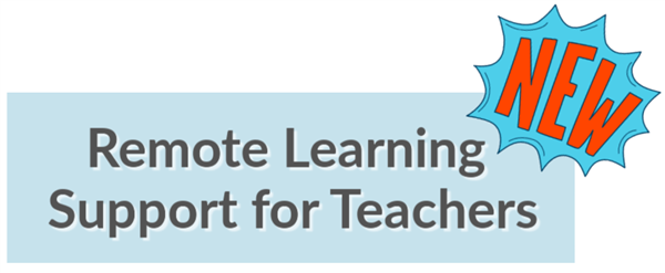 remote learning support for teachers