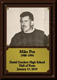 Mike Poe Plaque