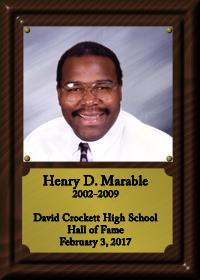 Henry Marable Plaque