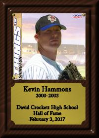 Kevin Hammons Plaque