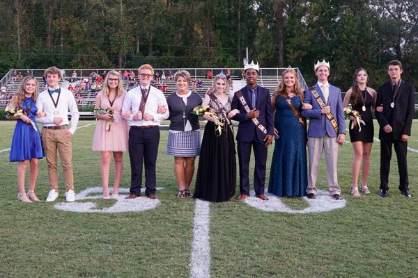 2019 DCHS Homecoming Court