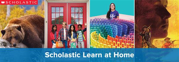 Scholastic Learn at Home is Now Offering Free Daily Projects