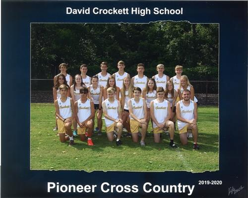 Picture Cross Country Team 2019