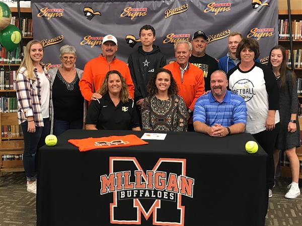 Kara Signs with Milligan
