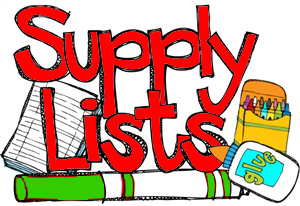Click here for grade-specific supply lists for 2018-2019