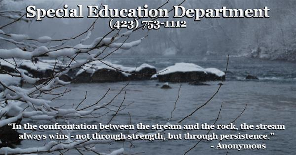 Special Education Quote Winter