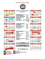 2018-19 District Calendar